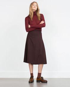 ZARA - WOMAN - HIGH NECK SWEATER