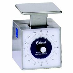 Compact Scale Fixed Dial 16 oz. by Edlund. $109.99. Compact Scale with Fixed Dial. If counter space is a concern, these compact scales are for you. Built to meet the demands of the commercial kitchen, these compact scales feature all stainless steel construction inside and out. Rustproof mechanisms. 16 oz. capacity, 1/4 oz. increments. 100% American made. NSF.