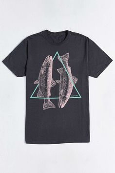 This is a clever #design. #Mydude , you should wear shirts with triangles. But yo, trout is delicious.