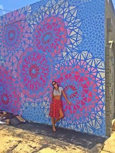 The Wynwood Walls. The place is located just a few minutes away from Downtown Miami and there's no way that you're not going to be amazed with all the drawings, graffiti and other street art. #travel #vacationrental #itrip