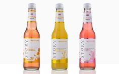 Story pressés given updated packaging from Beatson Clark