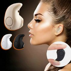 Newest Smallest Wireless Invisible Bluetooth Mini Earphones Earbuds