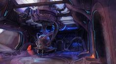 View an image titled 'Snowbound Base Interior Art' in our Halo 3 art gallery featuring official character designs, concept art, and promo pictures. Halo 3 Odst, Halo Game, Halo Reach, Sci Fi Environment, Wallpaper Gallery, 3 Arts, Future City, The Covenant, Art Pictures