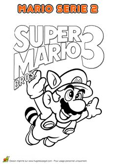 Free Printable Super Mario Coloring Pages