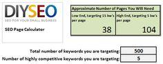 SEO Page Calculator via DIYSEO blog Calculator, Small Businesses, Infographics, Seo, Periodic Table, Website, Periodic Table Chart, Small Business Resources, Infographic