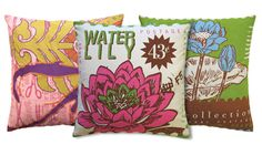 loving these vibrant pillows!