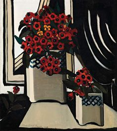 Deutscher and Hackett Melbourne - Australian Glory Flower, Preston Margaret Preston, Margaret Rose, Australian Painting, Australian Artists, Flower Vases, Flower Art, Picnic At Hanging Rock, Poster Prints, Art Prints