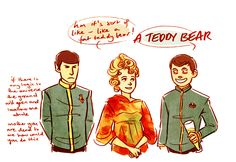 StarTrek: Admit it, that's what was really going on.