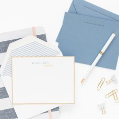 It's finally here! For the first time ever, now you can order your own set of Sugar Paper personalized stationery online. Making it easier than ever to make a set of your own and send some love through the mail.