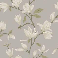 Vacker #magnolia från kollektionen Manor House 347046. Klicka för att se fler #inspirerande #tapeter för ditt hem!