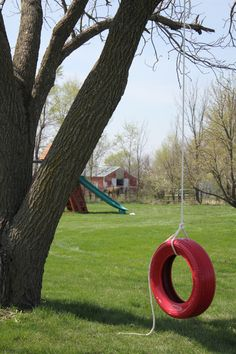 An iconic image of lazy summer afternoons, a simpler time and the carefree days of youth…the tire swing. A few months ago I was watching a little TV and saw a commercial about tractors, of a…