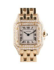 artier Panthere X-Large 18k Yellow Gold Watch