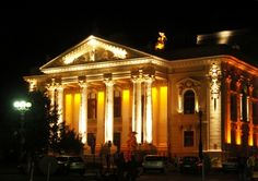 Went to a lovely ballet here. My Town, Romania, Theatre, Ballet, Memories, Spaces, Travel, Voyage, Souvenirs