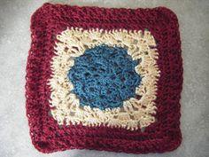 Crochet-Shell Around Square