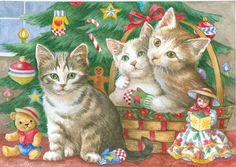 Christmas Kittens find Mittens by Lorraine Ryan