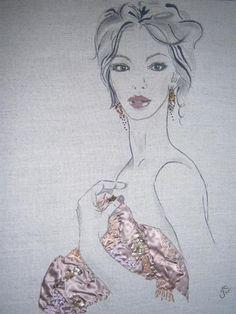 Kent fashion artist | Jean stearn