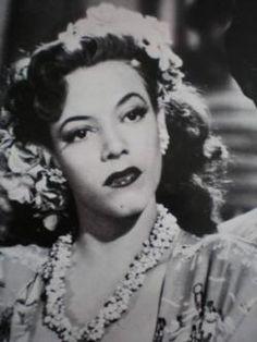 """Amalia Aguilar (1924) Recordada especialmente por sus películas de la Época de Oro del Cine Mexicano y llamada """"La Bomba Atómica por algunas reseñas de la época debido a su frenética forma de bailar."""