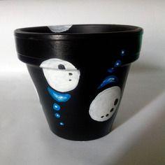 Pot pour plantes diamètre 10cm artsoofresh noir