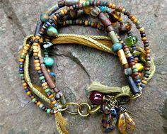 Boho Jewelry with Seed Beads