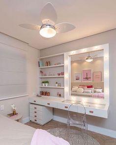 Best Living Room Design, Room Design Bedroom, Girl Bedroom Designs, Home Room Design, Room Ideas Bedroom, Interior Design Living Room, Bedroom Decor, Room Interior, Bedroom Shelves
