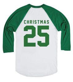 Christmas 25 Jersey Tee | Christms shirt | Put the Christ back in Christmas with this jersey tee. #christmas #25 #december #xmas #jesus