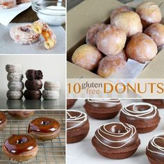 10 Recipes for Gluten Free Donuts—Happy National Donut Day!
