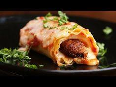 Chicken Parm Lasagne Roll-Ups