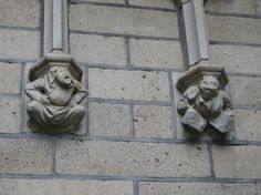 """""""Gargoyles"""" on the churches and buildings of the Netherlands - NHT Decorative Arts Studio"""