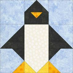 basic 9 patch with half square triangles and corner triangles. It would be best to the dimensions are divisible by three.