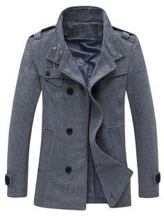 GET $50 NOW | Join RoseGal: Get YOUR $50 NOW!http://www.rosegal.com/men-s-coats/zippered-epaulet-design-stand-collar-861911.html?seid=7813996rg861911