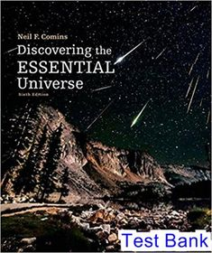 Pdf campbell biology 11th edition textbook water pinterest lisa test bank for discovering the essential universe 6th edition by comins ibsn 9781464181702 fandeluxe Choice Image