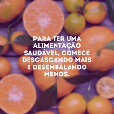 Frases Fitness, Life Care, Instagram Blog, Cantaloupe, Veggies, Low Carb, Nutrition, Vegan, Fruit