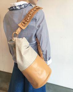 Wearing EDIT Sagan sailor bag in Osaka, Japan. Osaka Japan, Vienna, Sailor, Natural, Instagram Posts, How To Wear, Bags, Navy Sailor, Handbags