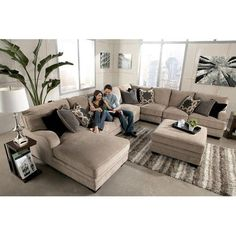 Comfortable Living Room Chaise Lounge 96 fortable ashley Sectional sofa Ideas for Living Living Room Sofa Design, Living Room Sectional, New Living Room, My New Room, Living Room Designs, Living Area, Living Furniture, Sofa Furniture, Furniture Design