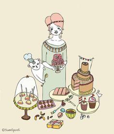 Sweetpirat: Cute illustration   Illustration