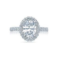 Gorgeous Oval Cut Diamond With Halo