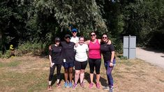 Advance Performance Beginners group at the end of their triumphant parkrun at Milton Park Cambridge