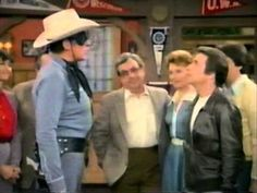 The Fonz Meets The Lone Ranger - YouTube
