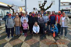 Dezenas participaram na última caminhada de 2016 em Vila Boim | Portal Elvasnews