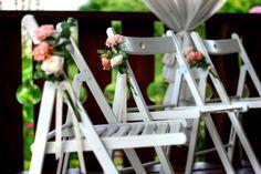 wedding chair decorations, flower decoration, Wedding Chair Decorations, Wedding Chairs, Flower Decorations, Wedding Gold, Ladder Decor, Castle, Green, Nature, Flowers