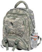 """17"""" Digital Camo Water Repellent Backpack, (704500)"""