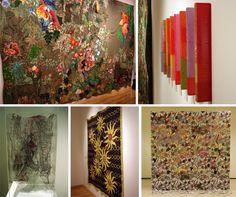 A partir del 6 de Junio y hasta el 23 de Agosto se puede visitar en el Centro Cultural UADE Art la muestra que reúne a destacados artistas contemporáneos del país. La temática es lo textil en sentido expandido.