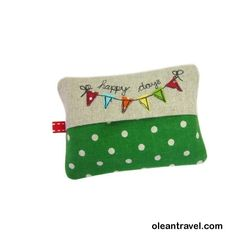 Travel Tissue Case, Pocket Tissue Cover, Pocket Tissue Holder, Bunting, Purse Tissue Holder - http://oleantravel.com/travel-tissue-case-pocket-tissue-cover-pocket-tissue-holder-bunting-purse-tissue-holder