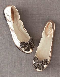 Embellished Ballet Flats