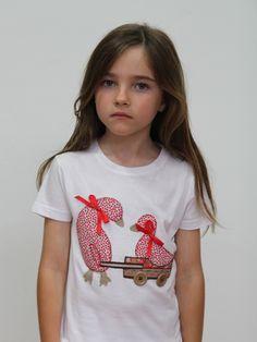 #camiseta #personalizada #patitos paseando