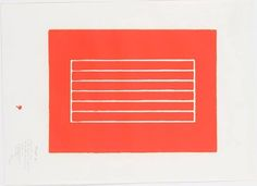 Donald Judd Woodblock Prints