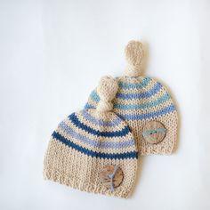 Newborn hat for boy / newborn hat baby boy / newborn by SOFTKNOT