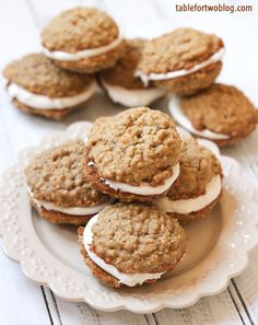 oatmeal creme pies - just like the ones you had when you were a kid!