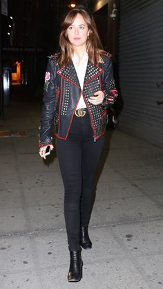 Going Out Tonight? Dakota Johnson's Look Is Just What You Need via @WhoWhatWearUK