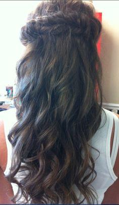 Canaan's bridal hair